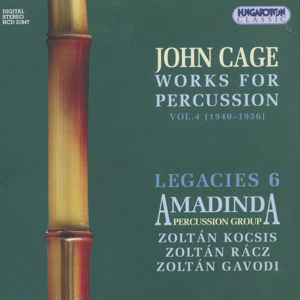 John Cage, Works for Percussion / Hungaroton