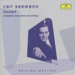 Carl Seemann Mozart – Complete solo piano recordings / DG