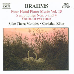 Brahms Four Hand Piano Music Vol. 15 / Naxos