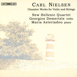 Carl Nielsen Chamber Works for Violin and Strings / BIS