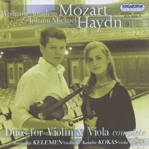 W.A. Mozart – J.M. Haydn Duos for Violin & Viola complete / Hungaroton