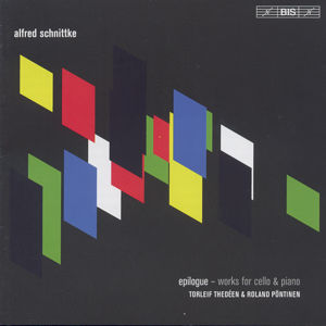 Alfred Schnittke, epilogue – Works for cello & piano / BIS