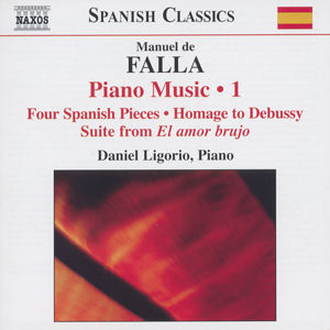 Manuel de Falla Piano Music Vol. 1 / Naxos