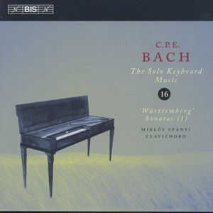 C.Ph.E. Bach, The Solo Keyboard Music Vol. 16 / BIS