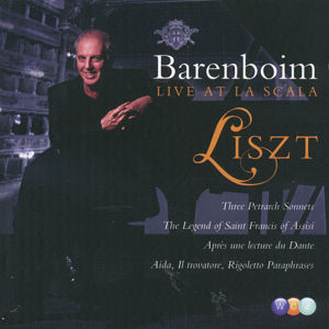 Barenboim Live At Scala Liszt / Warner Classics