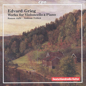 Evard Grieg<br />Works for Violoncello & Piano