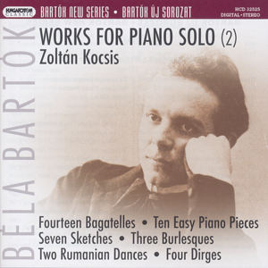 Béla Bartók, Works for Piano Solo / Hungaroton