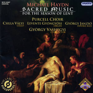 J. Michael Haydn Sacred Music for the Season of Lent / Hungaroton