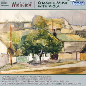 László Weiner<br />Chamber Music with Viola