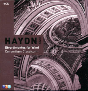Haydn Edition Divertimentos for Wind / Teldec