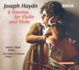 Joseph Haydn 6 Sonatas for Violin and Viola / Accent