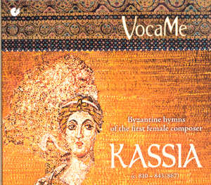 Kassia<br />Byzantine hymns of the first female composer