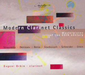 Modern Clarinet Classics Masterpieces of the 20th century / Coviello Classics