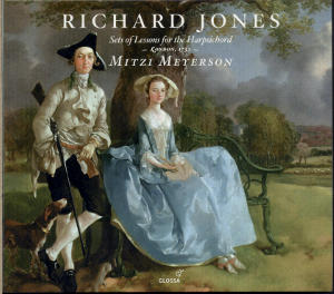 Richard Jones<br />Suits or Setts of Lessons for the Harpsicord or Spinnet