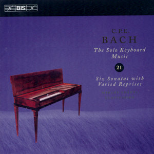 C.P.E. Bach, Solo Keyboard Music Vol. 21 / BIS