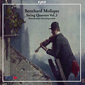 Bernhard Molique String Quartets Vol. 3 / cpo
